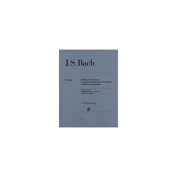 Bach, Johann Sebastian - Italian Concerto, French Overture, Four Duets, Goldberg Variations