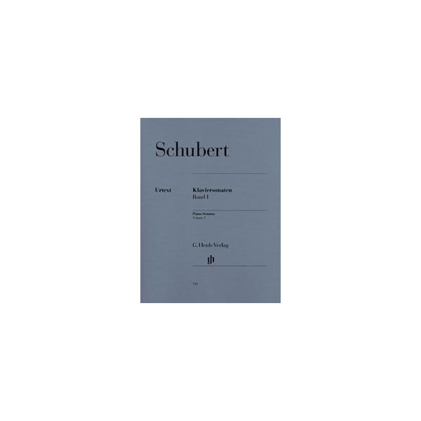 Schubert, Franz - Piano Sonatas   Vol. 1