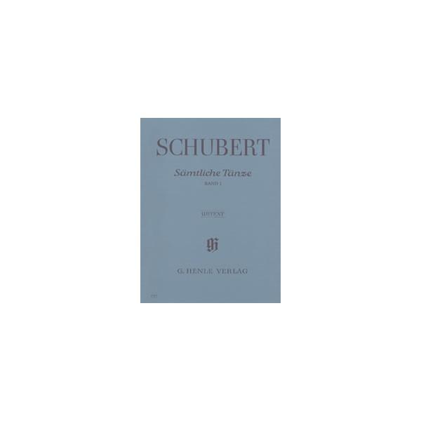 Schubert, Franz - Complete Dances   Vol. 1