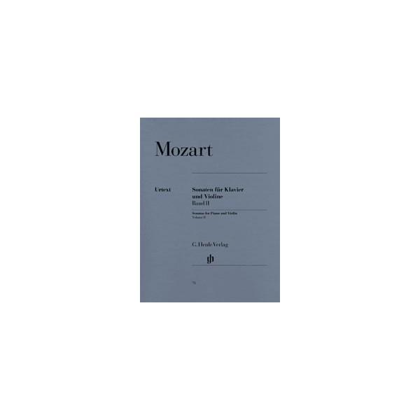Mozart, Wolfgang Amadeus - Sonatas for Piano and Violin Vol. 2