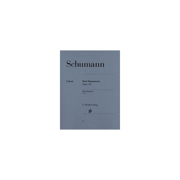 Schumann, Robert - 3 Romances op. 28