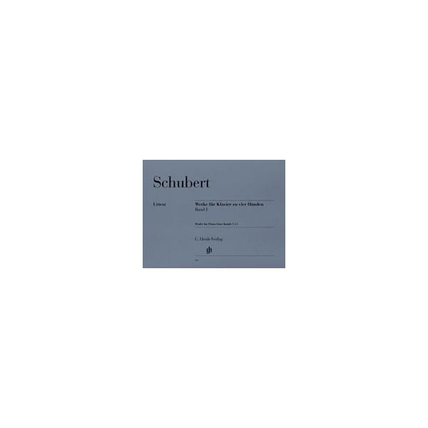 Schubert, Franz - Works for Piano four-hands   Vol. 1