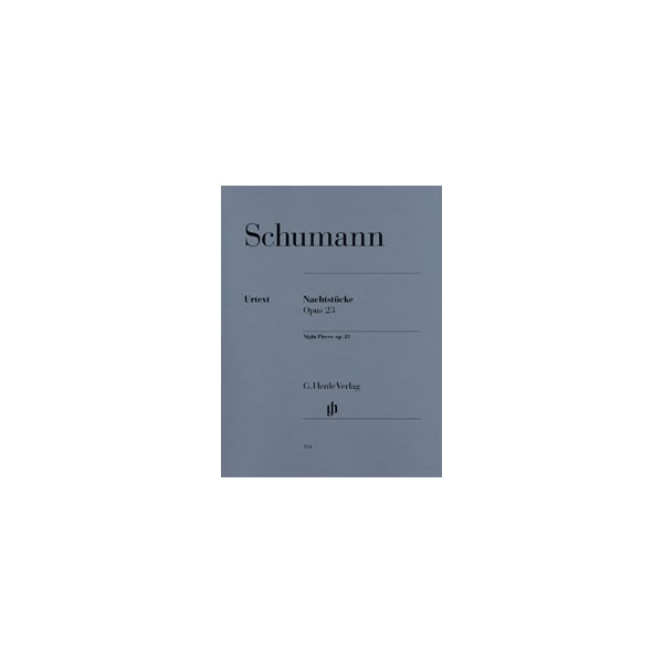 Schumann, Robert - Night Pieces op. 23