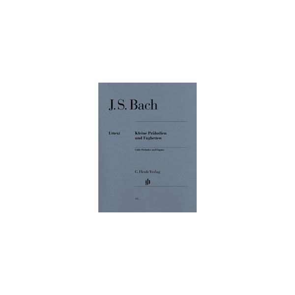 Bach, Johann Sebastian - Little Preludes and Fugues