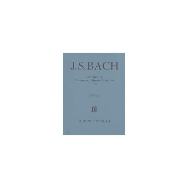 Bach, Johann Sebastian - Sonatas for Violin and Piano (Harpsichord) 1-3 BWV 1014-1016