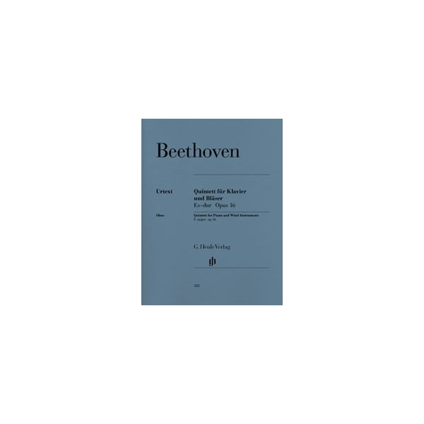 Beethoven, Ludwig van - Quintet for Piano and Wind Instruments (Version for Wind Instruments) op. 16