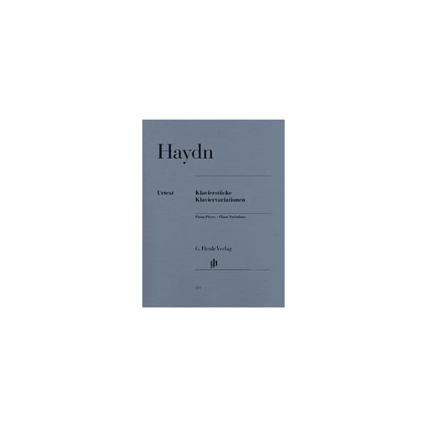 Haydn, Joseph - Piano Pieces - Piano Variations