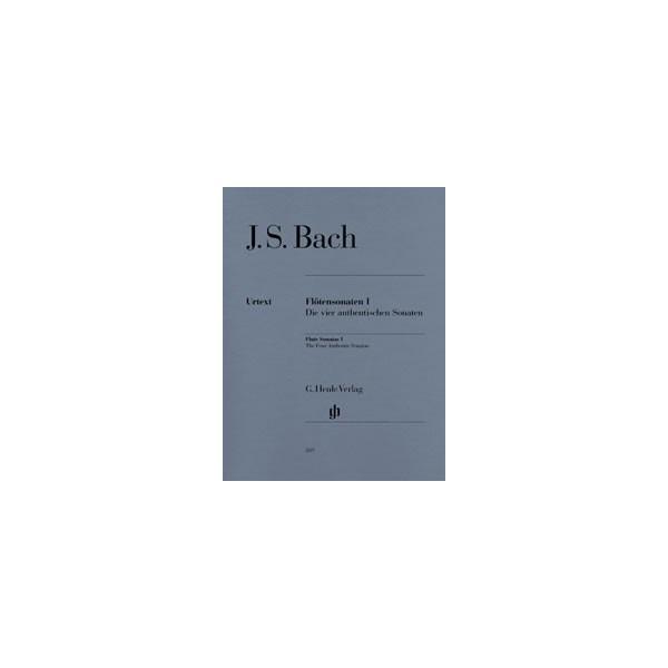 Bach, Johann Sebastian - Flute Sonatas Band 1 - (The four authentic Sonatas - with Violoncello part)
