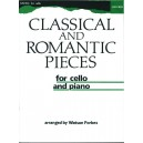Classical and Romantic Pieces for Cello - Forbes, Watson