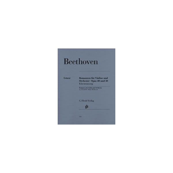 Beethoven, Ludwig van - Romances for Violin and Orchestra in G and F major op. 40 u. 50