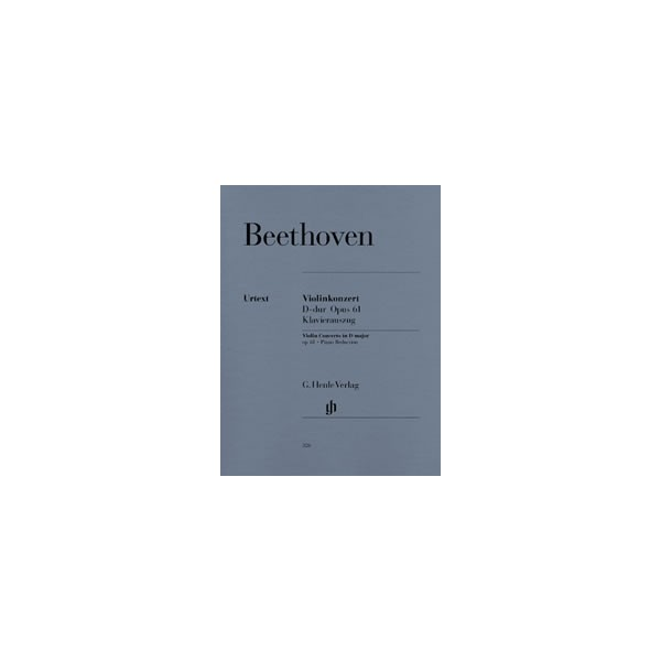 Beethoven, Ludwig van - Concerto D major for Violin and Orchestra op. 61