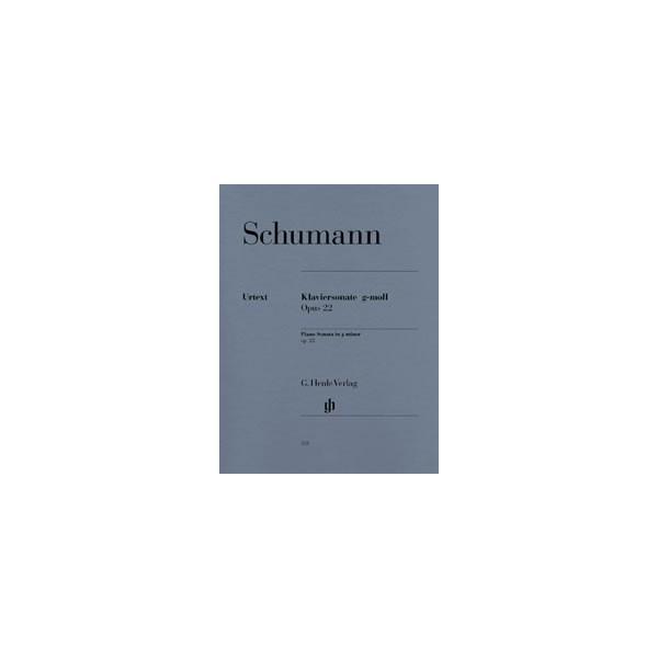 Schumann, Robert - Piano Sonata g minor with original last movement op. 22