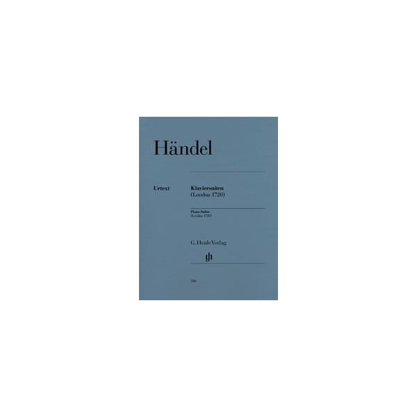 Handel, George Frideric - Piano Suites (London 1720)