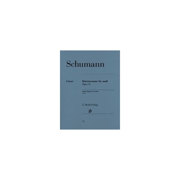 Schumann, Robert - Piano Sonata f sharp minor op. 11