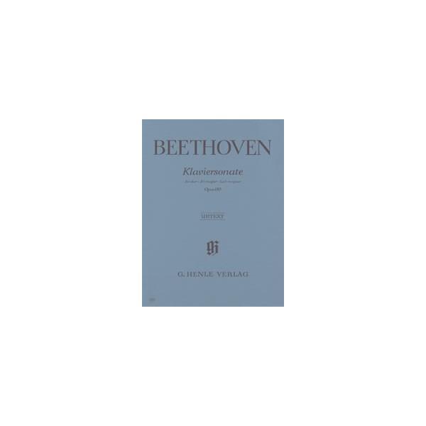 Beethoven, Ludwig van - Piano Sonata A flat major op. 110