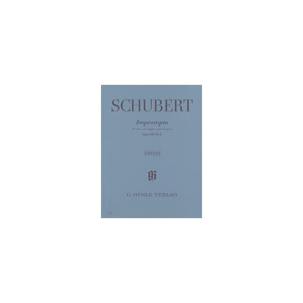 Schubert, Franz - Impromptu A flat major op. 90/4 D 899