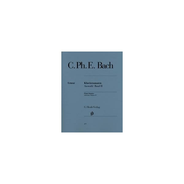 Bach, Carl Philipp Emanuel - Piano Sonatas, Selection Vol. 2