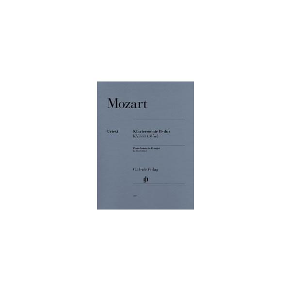Mozart, Wolfgang Amadeus - Piano Sonata B flat major  KV 333 (315c)