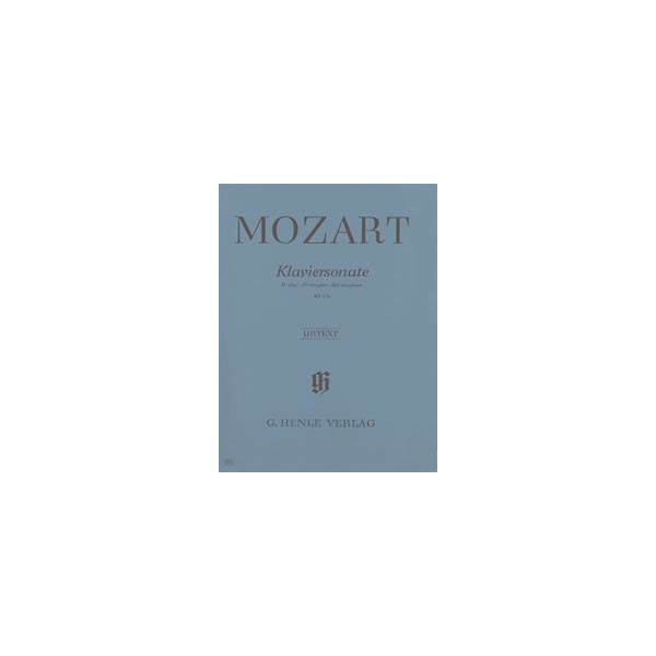 Mozart, Wolfgang Amadeus - Piano Sonata B flat major  KV 570