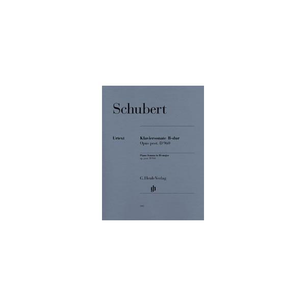 Schubert, Franz - Piano Sonata B flat major  D 960