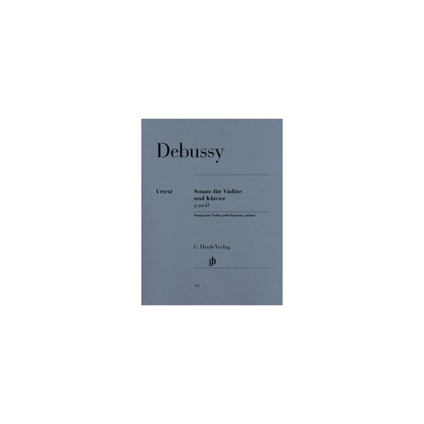 Debussy, Claude - Sonata for Violin and Piano