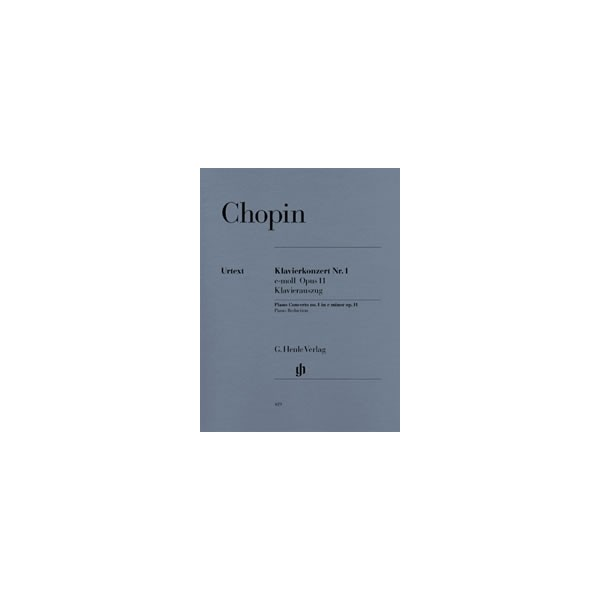 Chopin, Frédéric - Concerto for Piano and Orchestra No. 1 e minor op. 11