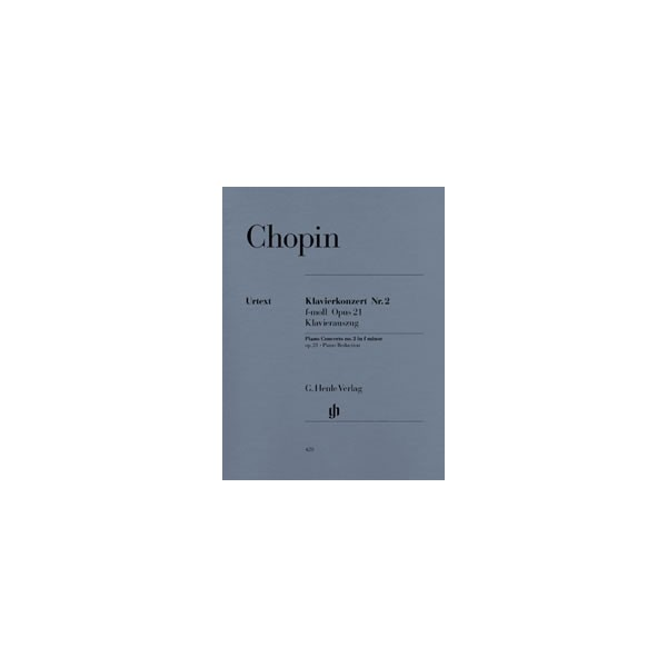 Chopin, Frédéric - Concerto for Piano and Orchestra No. 2 f minor op. 21