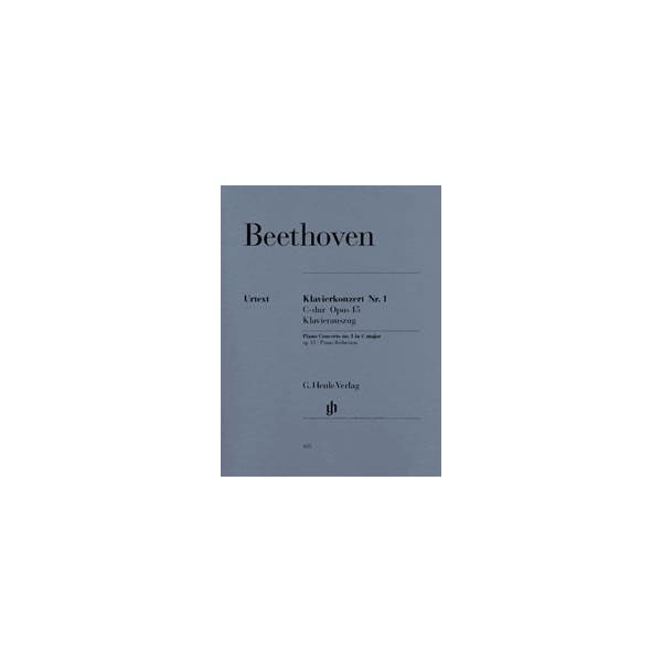 Beethoven, Ludwig van - Concerto for Piano and Orchestra No. 1 C major op. 15