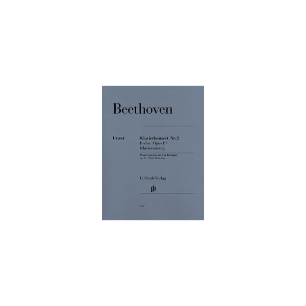 Beethoven, Ludwig van - Concerto for Piano and Orchestra No. 2 B flat major op. 19