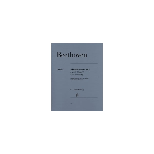 Beethoven, Ludwig van - Concerto for Piano and Orchestra No. 3 c minor op. 37