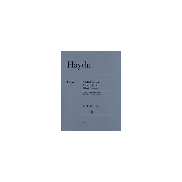 Haydn, Joseph - Concerto for Violin and Orchestra C major  Hob. VIIa:1