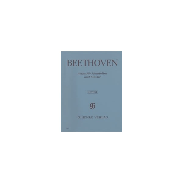 Beethoven, Ludwig van - Works for Mandolin and Piano