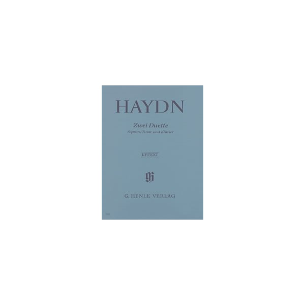 Haydn, Joseph - Two Duets for Soprano, Tenor and Piano  Hob. XXVa:2 und 1