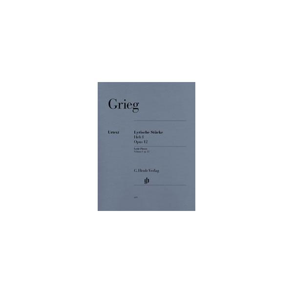 Grieg, Edvard - Lyric Pieces op. 12  Heft 1