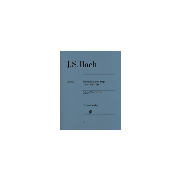 Bach, Johann Sebastian - Prelude and Fugue C major  BWV 846 - (from the Well-Tempered Clavier part I)