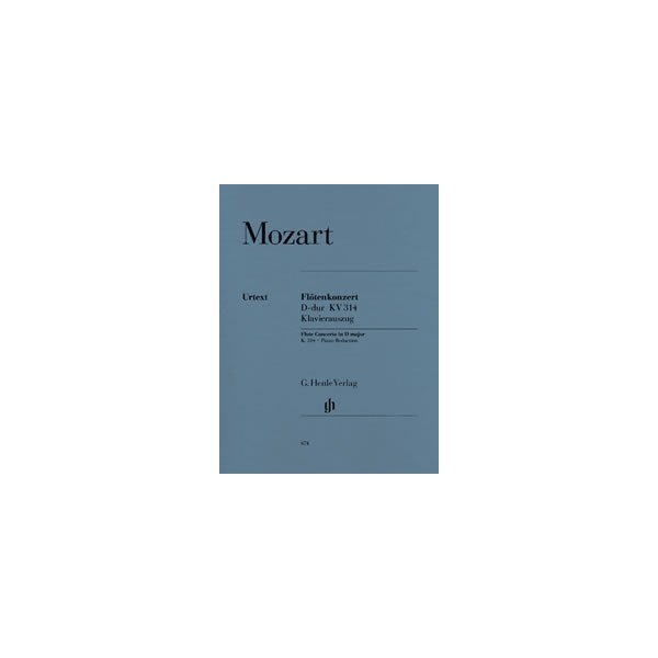 Mozart, Wolfgang Amadeus - Concerto for Flute and Orchestra D major KV 314