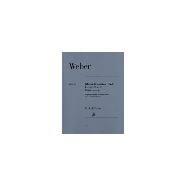 Weber, Carl Maria von - Clarinet Concerto no. 2 E flat major op. 74/2