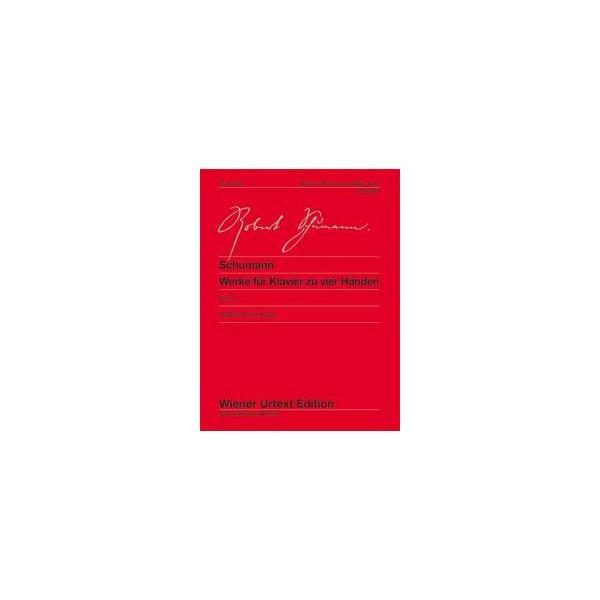 Schumann, Robert - Works for Piano Duet   Band 2
