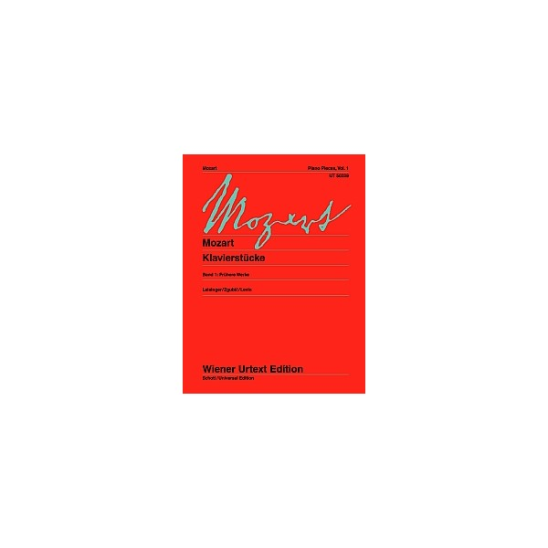 Mozart, Wolfgang Amadeus - Piano Pieces Band 1