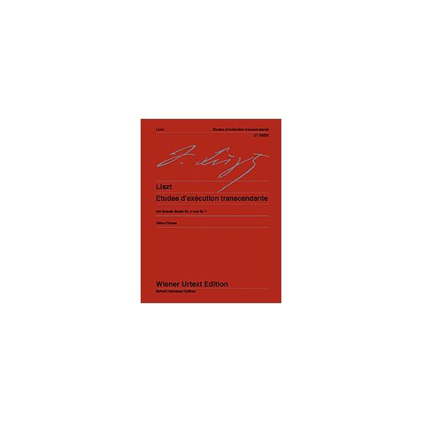 Liszt, Franz - Etudes dexécution transcendante
