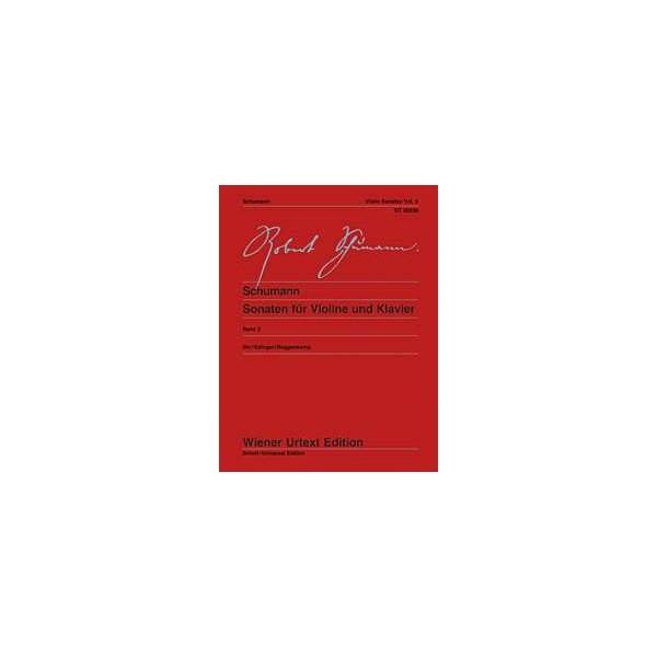 Schumann, Robert - Sonatas for Violin and Piano Band 2