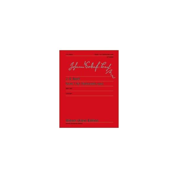 Bach, Johann Sebastian - Suite I G Major  BWV 1007