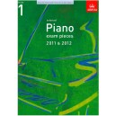 ABRSM Piano Exam Pieces 2011-2012 Grade 1 Book Only