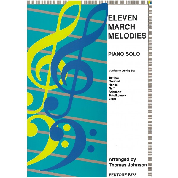 Eleven March Melodies for Piano Solo