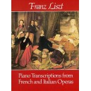 Liszt, Franz - Transcriptions From French & Italian Operas