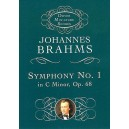 Johannes Brahms: Symphony No.1 In C Minor Op.68 (Miniature Score) - Brahms, Johannes (Composer)