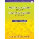 Partita in A minor J.S. Bach and Sonata in A minor C.P.E. Bach
