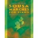 Easy-to-play Sousa Marches for Piano