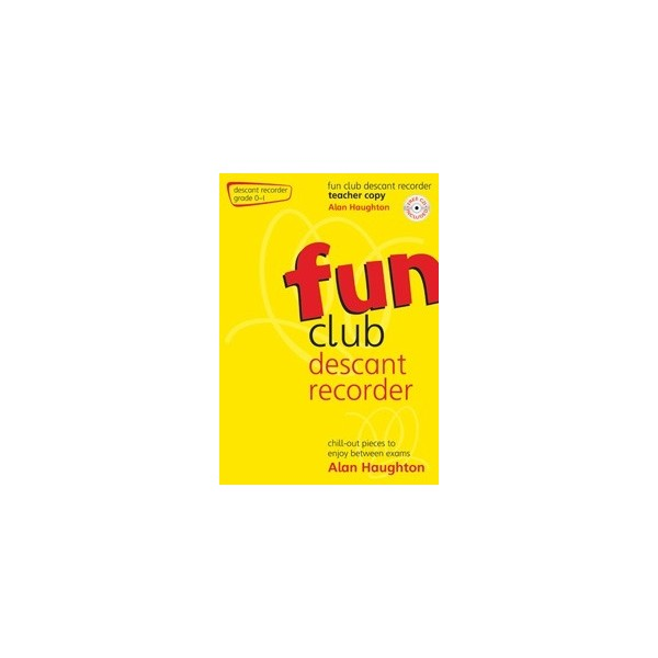 Fun Club Descant Recorder - Grade 0-1 Teacher