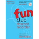 Fun Club Descant Recorder - Grade 1-2 Student